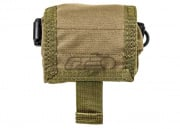 HSS Belt Mounted Roll Up Dump Pouch ( Tan )