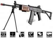 ICS Full Metal/Real Wood Galil ARM AEG Airsoft Gun (Wood)