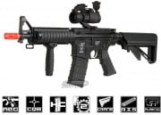 ICS M4 CQBR AEG Airsoft Gun w/ Vertical Grip (Black)