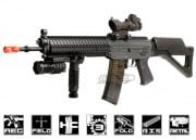 ICS SIG 551 MRS Long Barrel Carbine AEG Airsoft Gun (Black)
