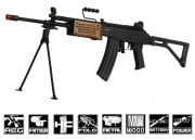 ICS Galil ARM Rifle AEG Airsoft Gun Battery & Charger Package ( Wood )
