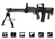 ICS Full Metal L86 A2 AEG Airsoft Gun (Battery & Charger Package)