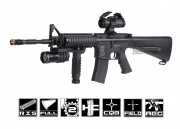 * Discontinued * ICS Full Metal PCR-97 RIS Tactical Carbine AEG Airsoft Gun (Full Stock)