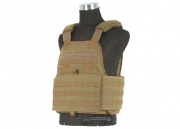 USMC Licensed Plate Carrier (Coyote Brown/Tactical Vest)