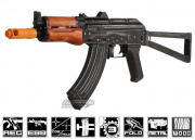 Javelin Airsoft Works Full Metal/Real Wood AK-74U Battle Veteran Series Electric BlowBack AEG Airsoft Gun