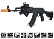Javelin Airsoft Works Full Metal Tactical AK-74 Electric BlowBack AEG Airsoft Gun ( Black )