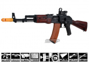 Javelin Airsoft Works Full Metal/Real Wood AK-74 Electric BlowBack AEG Airsoft Gun (Battery & Charger Package)