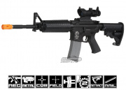 Javelin Airsoft Works Full Metal M4-A1 Electric BlowBack AEG Airsoft Gun ( Battery & Charger Package )