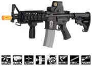 Javelin Airsoft Works Full Metal M4 CQB Electric BlowBack AEG Airsoft Gun (Battery & Charger Package)