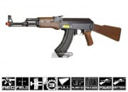 JG AK47 Carbine AEG Airsoft Gun (Black/Imitation Wood)