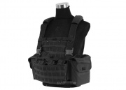 J-Tech 1000D Cordura CP-6 Combat MPS Chest Rig (Black/Tactical Vest )