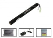 King Arms 11.1v 1300 mAh LiPo Stick Battery Package ( Battery , Charger & Liposack )