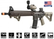 Airsoft GI Full Metal King Arms Daniel Defense Carbine V5 GBB Rifle Airsoft Gun (FDE)