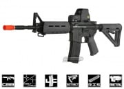 King Arms Full Metal Colt M4 MOE GBB Rifle Airsoft Gun (Black)
