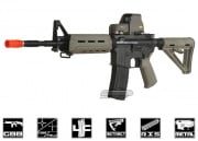 King Arms Full Metal Colt M4 MOE GBB Rifle Airsoft Gun ( DE )
