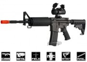 King Arms Full Metal Colt M4A1 GBB Rifle Airsoft Gun