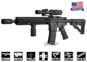 King Arms Colt Full Metal M4 w/ Daniel Defense RIS II Gas Blowback Carbine Airsoft Gun ( Airsoft GI Custom )