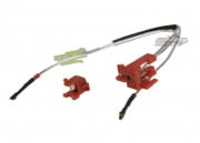 King Arms Silver Cord & Switch Set for Ver.2 ( Wired to the Rear )