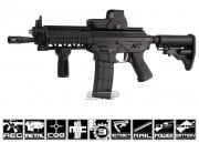 King Arms Full Metal Blow Back SIG 556 Shorty AEG Airsoft Gun (Battery & Charger Pkg)