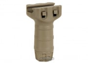 King Arms Shorty Vertical Grip for RAS (Dark Earth)