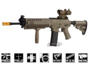 King Arms Full Metal Blow Back SIG 556 Holo AEG Airsoft Gun (Dark Earth)