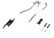 King Arms Silver Cord & Switch Set for Ver.3 ( Wired to the Rear )