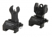 King Arms Folding Battle Sight Set (Black)