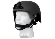 King Arms Mil-Force Professional ( IBH ) Helmet w/ NVG Mount ( Black )