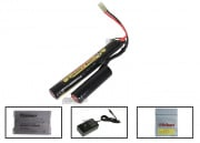 Kong Power 11.1v 1400mAh LiPo L-Shape Battery Package (Battery, Charger & Liposack)