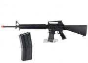 KWA Full Metal M16 Battle Rifle 2GX Airsoft Gun w Magazine Package