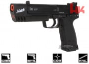 H&K Full Metal USP Match NS2 GBB Airsoft Gun By KWA