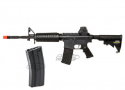 KWA M4 A1 CQR MOD 1 AEG Airsoft Gun  w/Additional High Capacity Magazine Package Deal