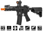 "Lancer Tactical LT14B M4 7"" Keymod Carbine AEG Airsoft Rifle (Black)"