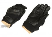 Lancer Tactical Hard Knuckle Gloves ( Black / Medium )