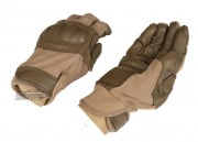 Lancer Tactical Hard Knuckle Gloves ( Tan / Medium )