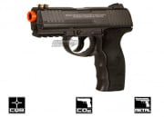 WG Full Metal M3000 Non Blowback CO2 Pistol Airsoft Gun (Black)