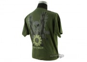 Mechbox Clothing Skull & Crossbones T-Shirt (OD/XL)