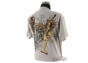 Mechbox Clothing Spartan T-Shirt (Silver/M)