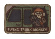 MM Flying Trunk Monkey Velcro Patch (Multicam)