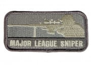 MM Major League Sniper Velcro Patch ( Light ACU )