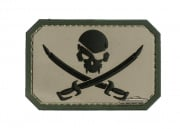 MM Pirate Flag PVC Patch (Dark ACU)