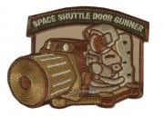 Mil-Spec Monkey Shuttle Door Gunner Patch (Arid)