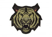 Mil-Spec Monkey Tiger Head Patch (Forest)