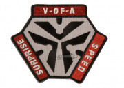 Mil-Spec Monkey Trigger Pull Logo Patch (Red)