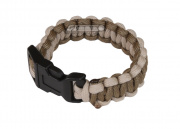 "Mil-Spec Cords 5"" Cobra Paracord Bracelets (Coyote/Tan)"