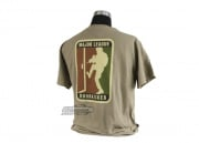 Milspec Monkey Major League Doorkicker T-Shirt ( Tan / L )