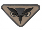 MM Owl Head PVC Patch ( ACU )