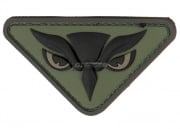 MM Owl Head PVC Patch ( Forest )