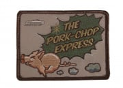 MM Pork Chop Express Velcro Patch (Tan/OD)