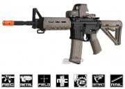(Discontinued) Magpul Full Metal MOE Carbine AEG Airsoft Gun (2-tone/Black Receiver)